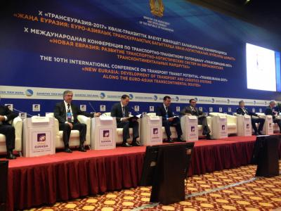 ECO Secretary General attended Trans Eurasia International Conference in Astana