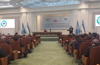 Secretary General attended the High-level Conference on Security and Sustainable Development in Central Asia