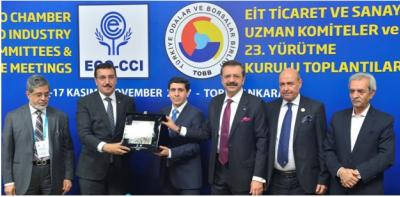 ECO delegation attended the ECO-CCI's Executive Committee Meeting in Ankara