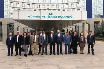 ECO Smuggling and Customs Offences Data Bank Meeting held in Ankara
