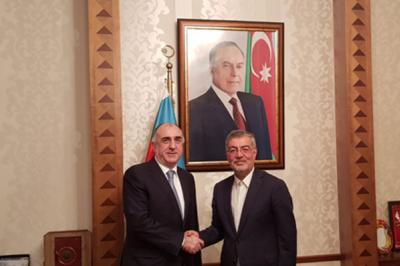 Secretary General ECO Calls on Foreign Minister of the Republic of Azerbaijan