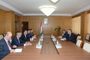 ECO Secretary General Meets with Tajikistan's Minister of Economic Development and Trade