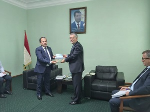 ECO Secretary General Meets with the Chairman of the Committee for Tourism Development under the Government of the Republic of Tajikistan