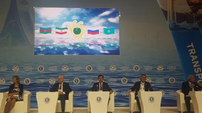 ECO Secretary General participated in the First Caspian Economic Forum