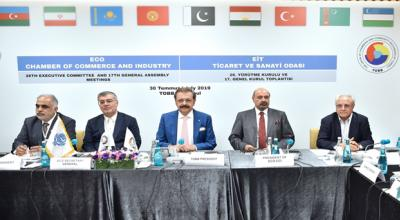 ECO Secretary General attends the 26th Executive Committee and 17the General Assembly Meetings of the ECO-Chambers of Commerce and Industry in Istanbul