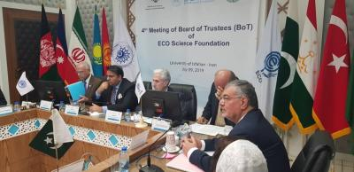 The ECO Science Foundation holds the 4th Meeting of its Board of Trustees Isfahan, the Islamic Republic of Iran - 9th July, 2019